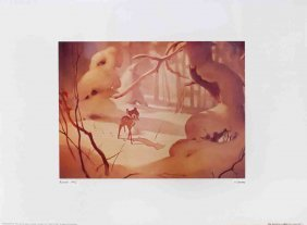 Walt Disney's Bambi: The Forest Was White Poster