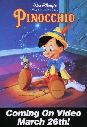 Walt Disney's Pinocchio Serigraph