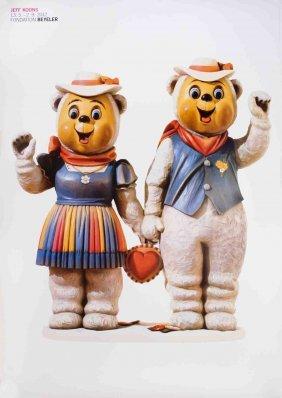 2012 Koons Winter Bears Poster