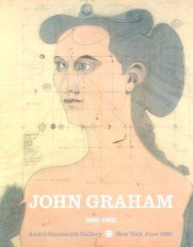 John Graham - Andre Emmerich Gallery - 1966