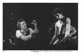 Billy Name - Johnny Rotten - Sid Vicious - Signed