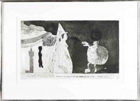 David Hockney - Rumpelstiltskin - 1962 - Signed