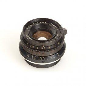 Summicron 2/35mm Black, SN: 1852779, 1961