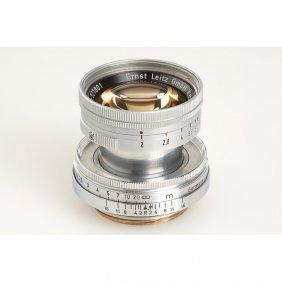 Summicron 2/5cm, SN: 921801, C.1951