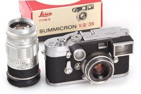 Leica M3 Chrome Double Stroke Outfit *