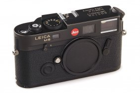 Leica M6 Ttl 0.85 Black 'boston University'