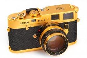 Leica M4-2 Gold 'oskar Barnack'