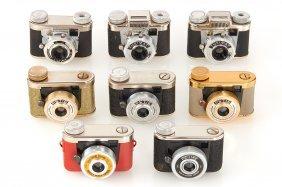 Kunik Germany Miniature Cameras (various)