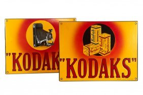Kodak Enamel Signs (various)
