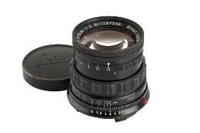 Leica: Summicron  2/5cm Black Paint