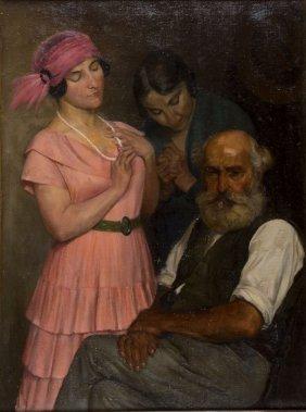 Antonio Zumino Majano 1864 - Roma 1927 Treshing