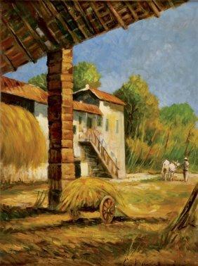 Carlo Domenici Livorno 1897 - Portoferraio 1981 Farm