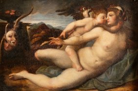 """Agnolo Bronzino Follower """"amore E Psiche"""""""