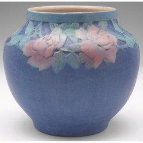 Newcomb College Vase, Broad Form