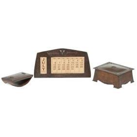 Old Mission Kopperkraft Desk Set