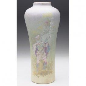 Weller Hudson Pictorial Vase