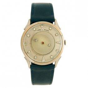 Elgin Lord Elgin Mystery Dial Wristwatch