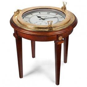 Ulysse Nardin Porthole Clock Table