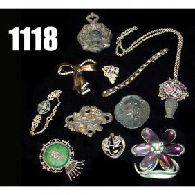 Lot Of Victorian Jewery,
