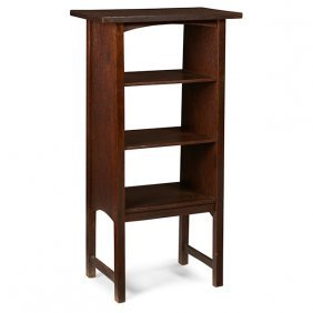 "Gustav Stickley Magazine Stand, #72 22""w X 13""d X 42""h"