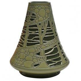 Roseville Rozane, H. Smith, Decorator Della Robbia Vase
