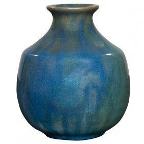 """Pewabic Vase 4""""dia X 4.5""""h"""