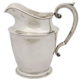 "Watson Company 5 Pint Water Pitcher, #b297 9""w X 6.5""d"