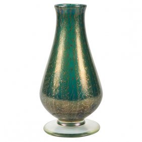 "Arthur Douglas Nash (1882-1940) Vase 4.25""dia X 9""h"