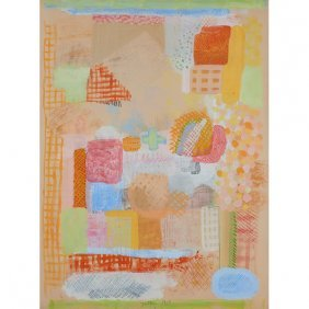 Robert Natkin, (american, 1930-2010), Untitled, 1969,