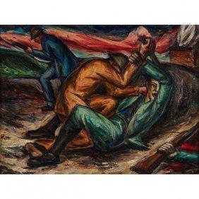 George Josimovich, (american, 1894-1986), War