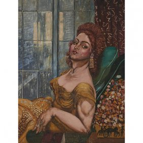 Artist Unknown , (american, 20th Century), Seated