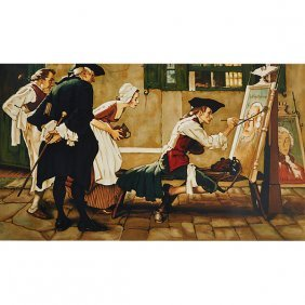 Norman Rockwell, (american, 1894-1978), Colonial Sign