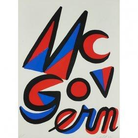 Alexander Calder, (american, 1898-1976), Mcgovern,