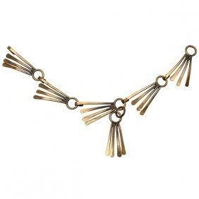 "Art Smith (1917-1982) Bracelet 8.25""long"