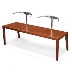 "Philippe Starck For Aleph Royalton Bench 53.75""w X"