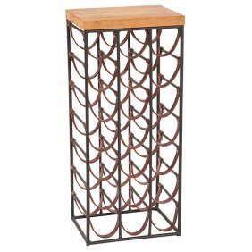 "Arthur Umanoff For Shaver Howard Wine Rack 14""w X 11""d"