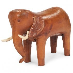 Dimitri Omersa For Abercrombie & Fitch Elephant Stool