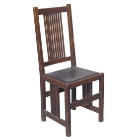 Gustav Stickley Side Chair, Oak
