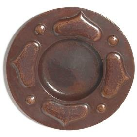 Arts & Crafts Tray, Hammered Copper