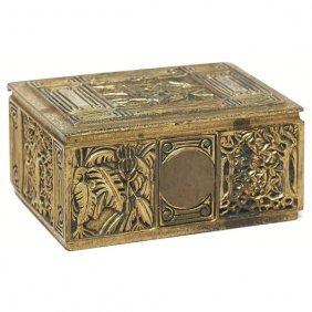 Tiffany Studios Box, Bronze