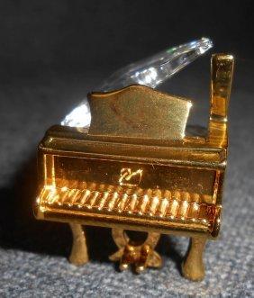 Swarovski Crystal Memories Baby Grand Piano