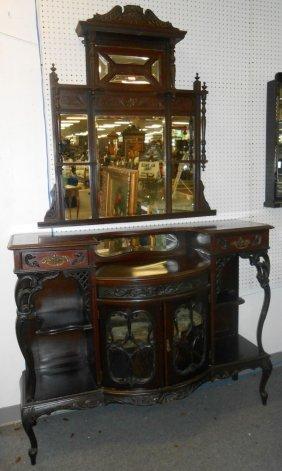 Antique 2 Piece Victorian Etagere