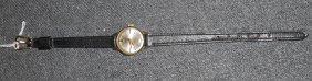 Ladies Vintage 14k Gold Desta Watch