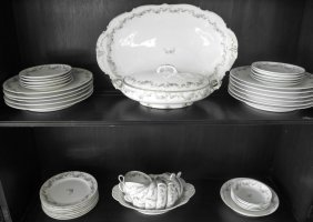 Haviland Limoge 44 Piece Dinnerware Set