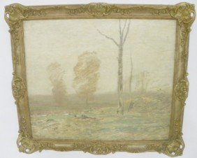 John F. Murphy Impressionistic Landscape Oil