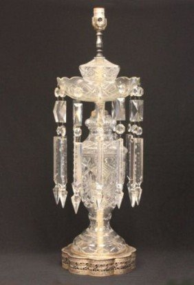 Crystal Lamp With Prisms