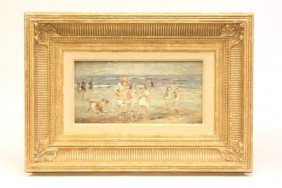 Oil Painting Signed E. Potthast