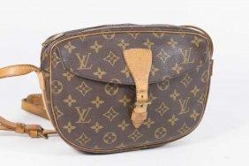 """Vintage Louis Vuitton """"jeune Fille"""" Crossbody Bag"""