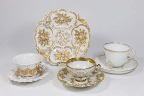 Group Of Meissen & Continental Porcelain