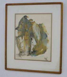 Gino Hollander, Floral Abstract